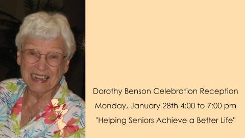 Dorothy Benson Celebration Reception